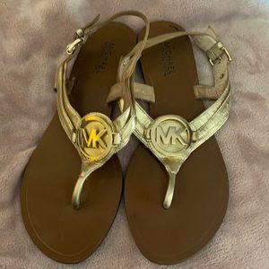 Michael gold sandals.